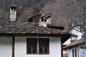 Bulgaria Rodopi Mountains Ottoman house