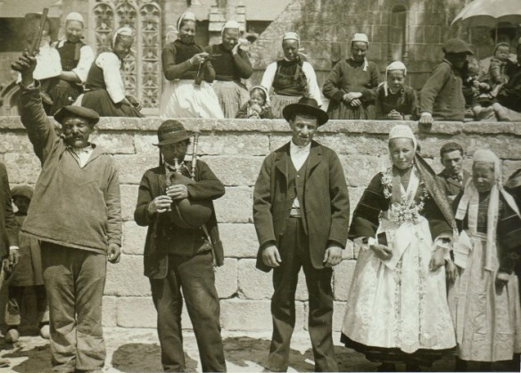 Breton wedding around Vannes Area in 1906