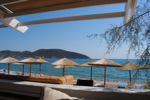 Aegean see, inspiring place, Athrion, Nea Peramos, Greece