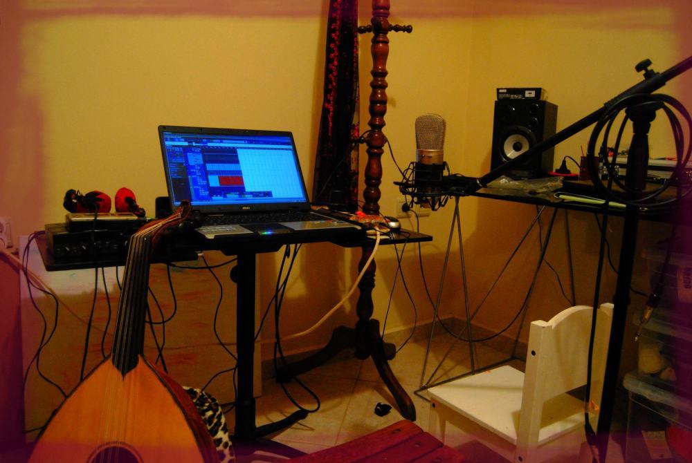 Home music studio - Astrakan Project - diy album again