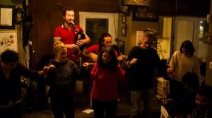 Kumbara Cafe Yann Gourvil Richard Laniepce from Kolektif Istanbul Breton danse