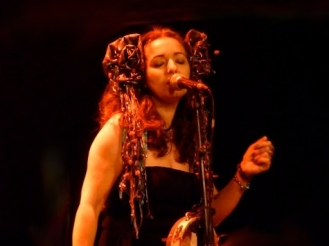 Simone Alves Astrakan Project Lessines world music concert with Taraf de Haidouks