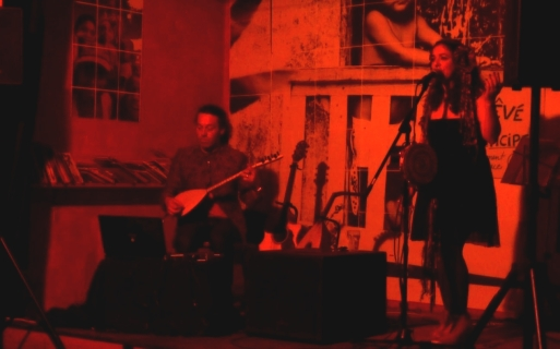 Yann Gourvil / Simone Alves / Astrakan Project world celtic music in Marseille Equitable Café
