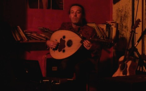 Yann Gourvil | Astrakan Project world celtic music in Marseille Equitable Café