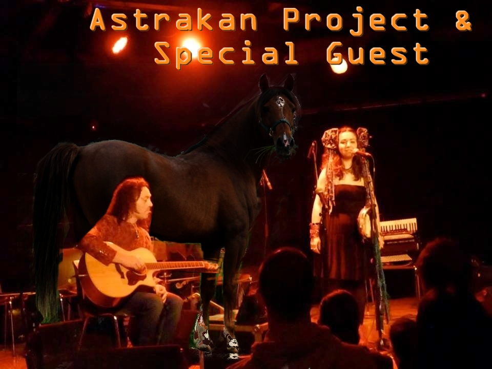 A Horse on Stage with Astrakan Project  | Simone Alves | Yann Gourvil