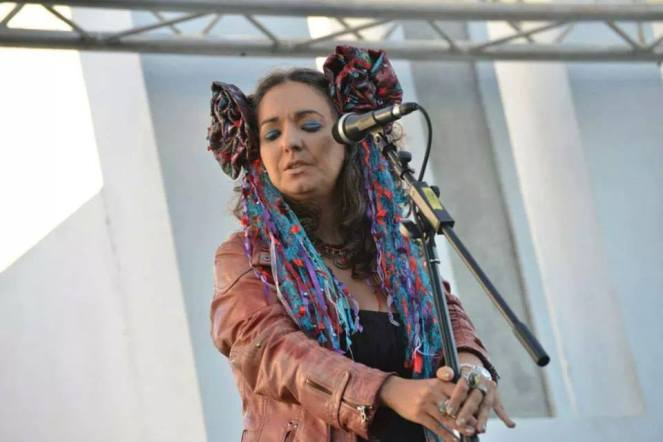 Simone Alves Astrakan Project concert FMM Sines Portugal