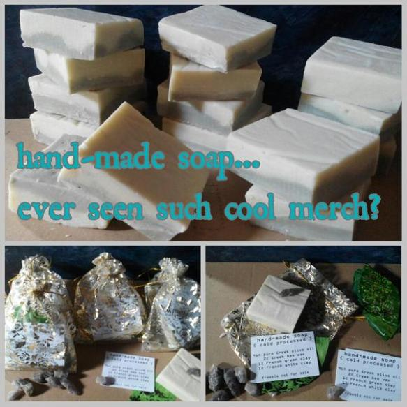 soap session hand made soap merchandising