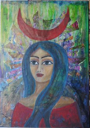 Hathor (2012) 35*50cm