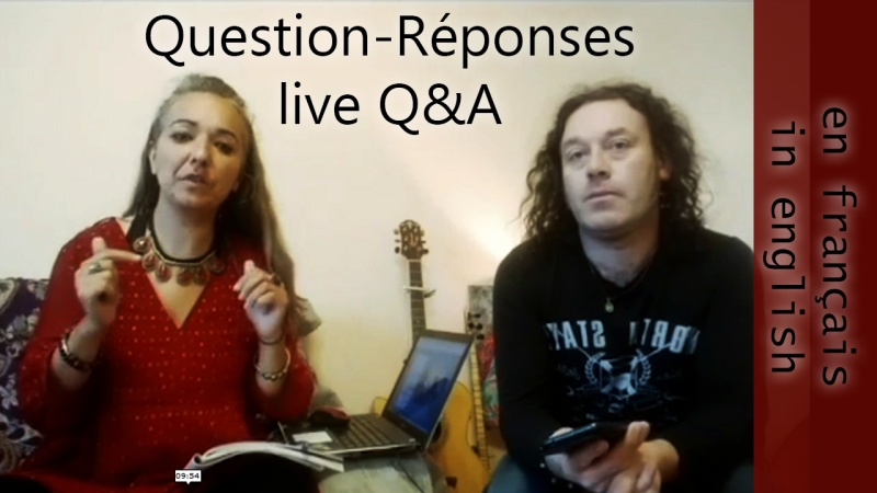 Q and A live on facebook 03/05/2020