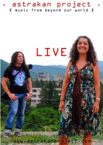Live Poster Astrakan project concerts